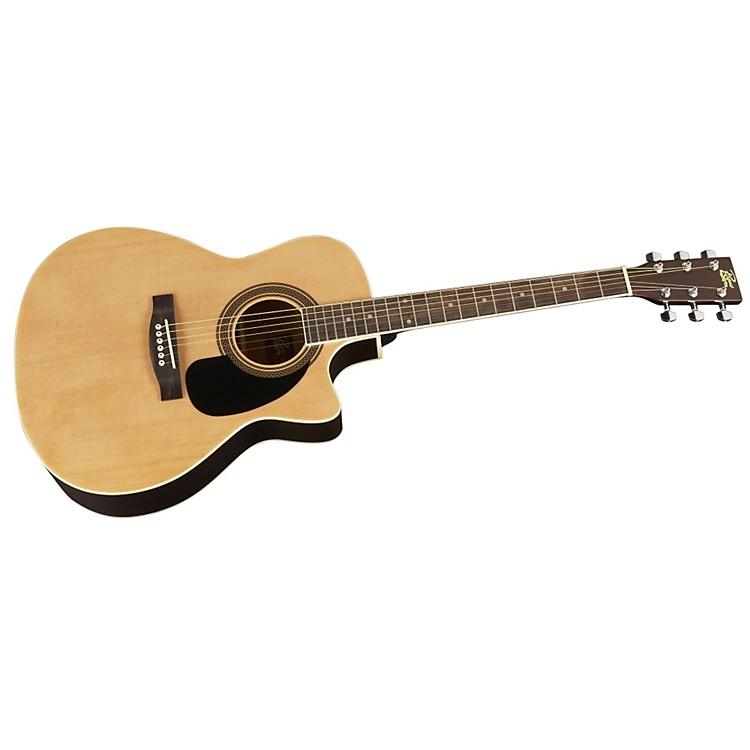 RogueGrand Concert Cutaway Acoustic-Electric Guitar