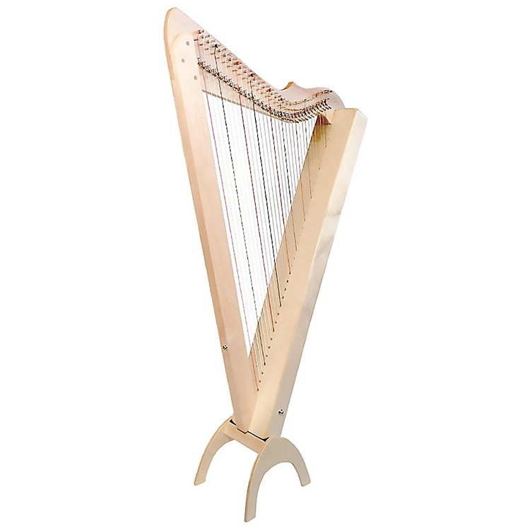 Rees Harps Grand Harpsicle Harp Natural Maple