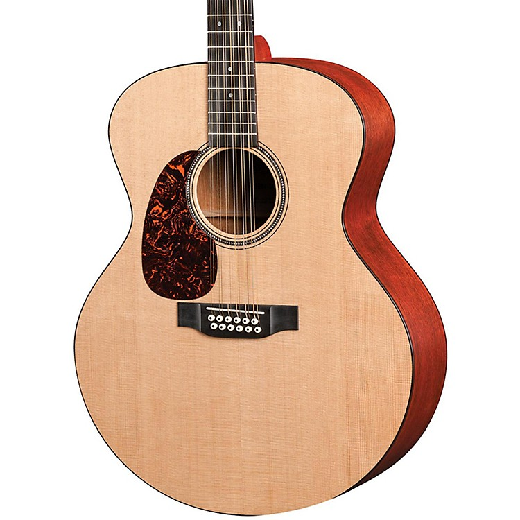 Martin Grand J12-16GTE Left-Handed Acoustic Electric Guitar Natural