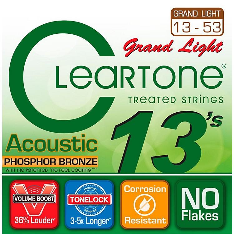CleartoneGrand Light Phosphor Bronze Acoustic Guitar Strings (13-53)