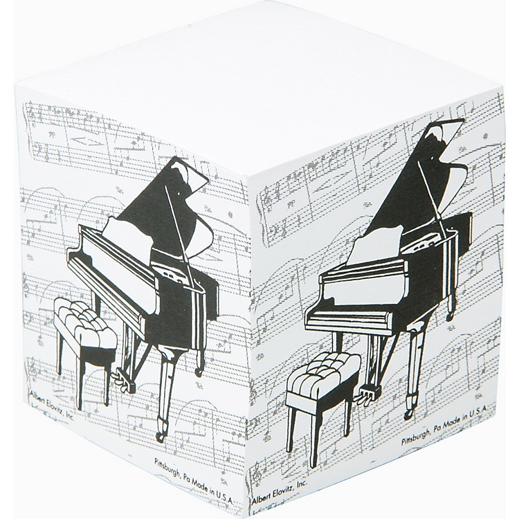 Gear One Grand Piano Memo Cube