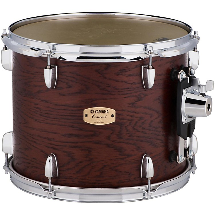YamahaGrand Series Double Headed Concert Tom13 x 10.5 in.Darkwood Stain Finish
