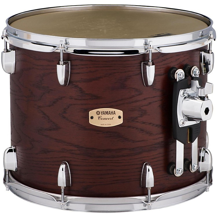 YamahaGrand Series Double Headed Concert Tom14 x 11 in.Darkwood stain finish