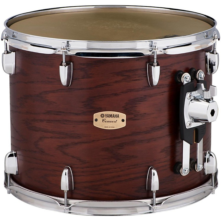 Yamaha Grand Series Double Headed Concert Tom 15 x 11.5 in. Darkwood stain finish