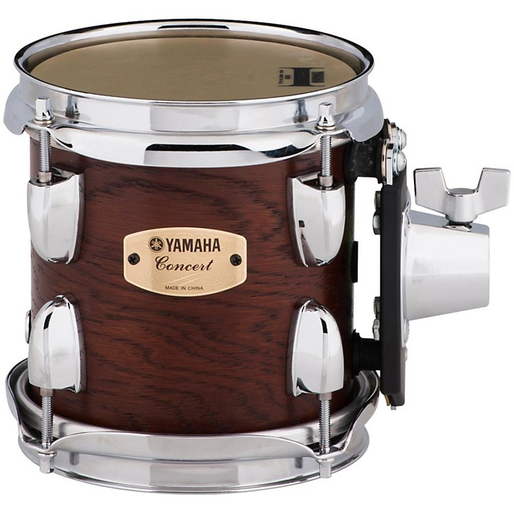 Yamaha Grand Series Double Headed Concert Tom 6 x 6-1/2 in. Darkwood stain finish