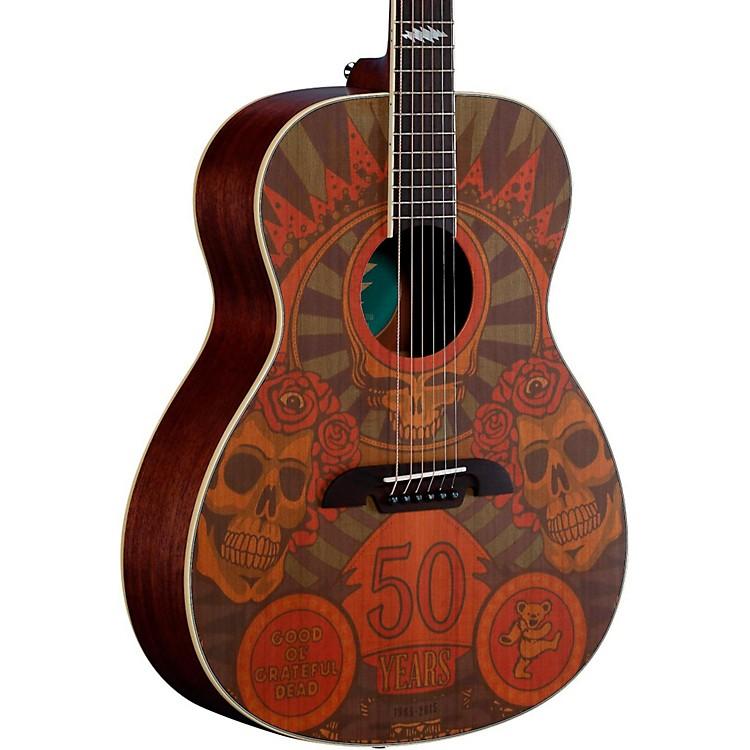 AlvarezGrateful Dead 50th Anniversary Acoustic GuitarMontage