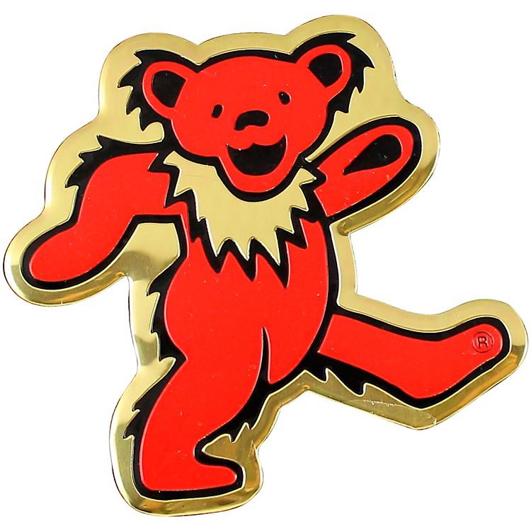 C&D VisionaryGrateful Dead Bear Heavy Metal Sticker