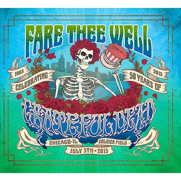 WEAGrateful Dead Fare Thee Well 2DVD
