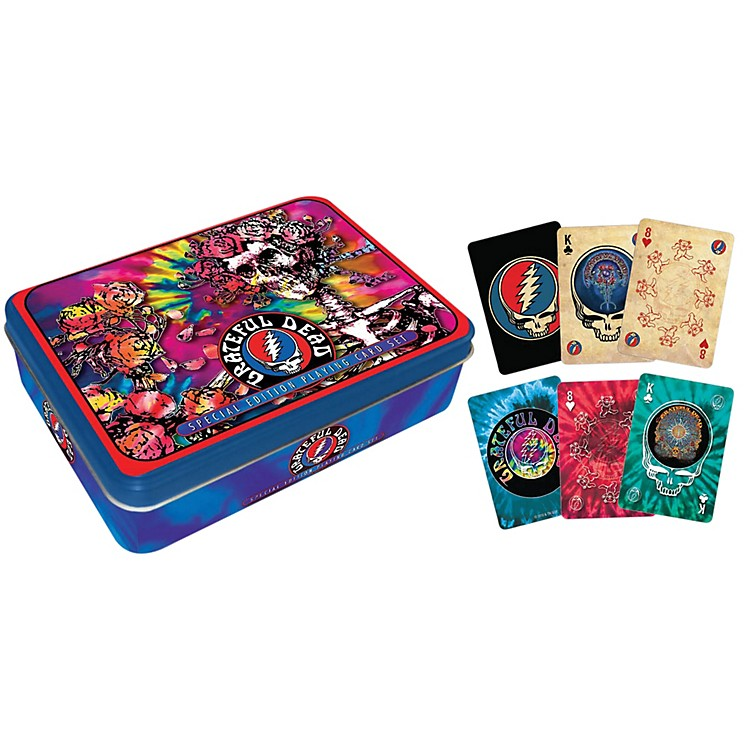 Hal Leonard Grateful Dead Playing Cards 2-Deck Set Gift Tin
