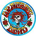 C&D Visionary Grateful Dead Skull & Roses Patch