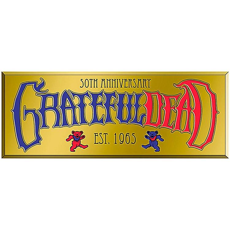 C&D VisionaryGrateful Dead Text Heavy Metal Sticker