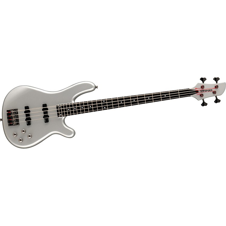 Fernandes Gravity 4 Deluxe Bass Guitar Pewter