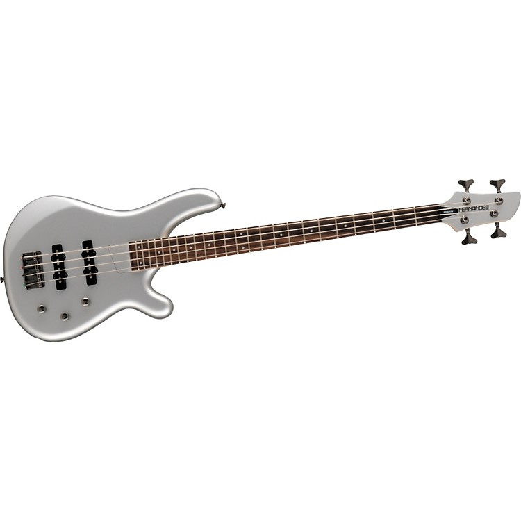 Fernandes Gravity 4 X Bass Guitar Pewter
