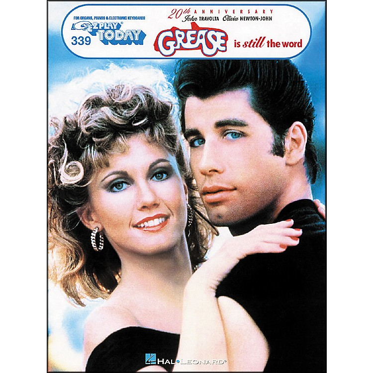 Hal Leonard Grease Is Still The Word 20th Anniversary E-Z Play 339