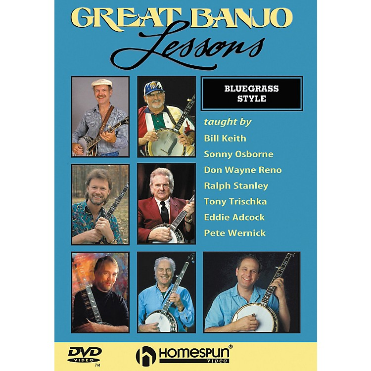 HomespunGreat Banjo Lessons Bluegrass Style (DVD)