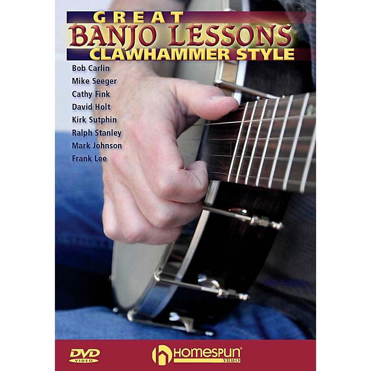 HomespunGreat Banjo Lessons: Clawhammer Style DVD