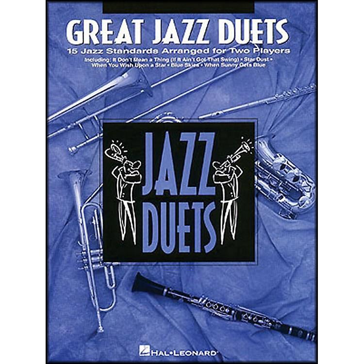 Hal LeonardGreat Jazz Duets for Trumpet