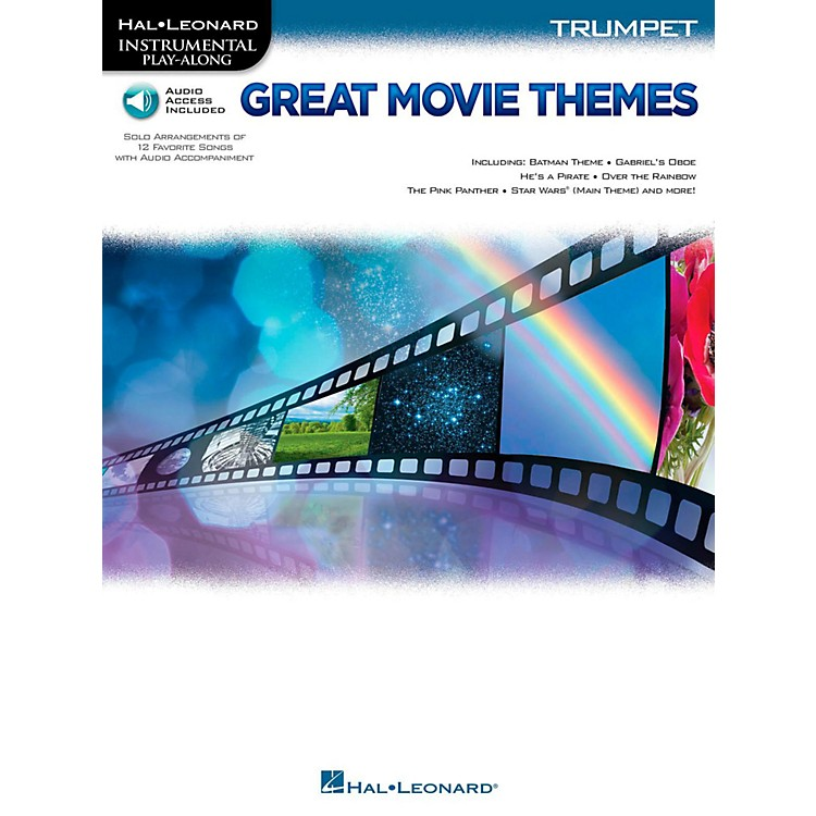 Hal LeonardGreat Movie Themes For Trumpet - Instrumental Play-Along (Book/Online Audio)