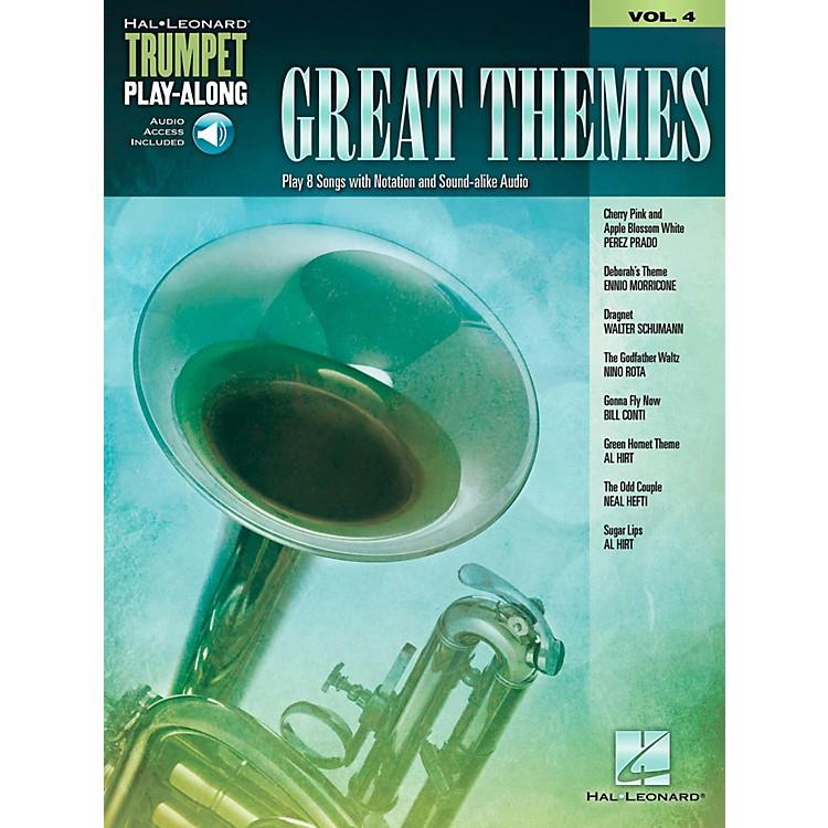 Hal LeonardGreat Themes - Trumpet Play-Along Vol. 4 (Book/Audio Online)
