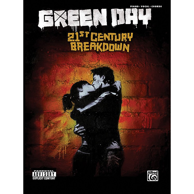 Alfred Green Day - 21st Century Breakdown - Piano, Vocal, and Chord Songbook