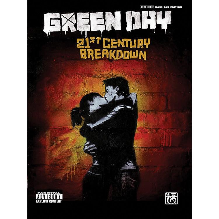 AlfredGreen Day - 21st Century Breakdown (Bass Tab Book)