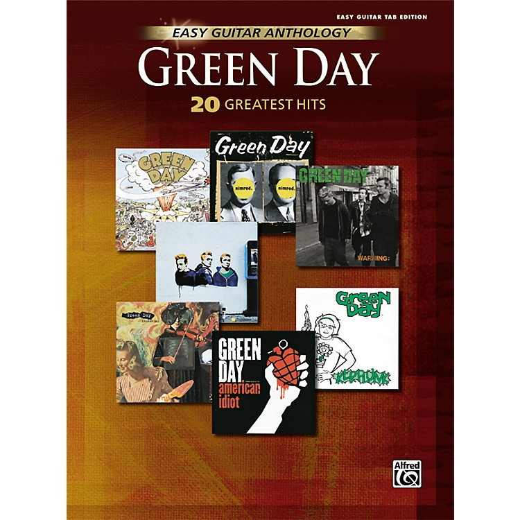 Hal Leonard Green Day Anthology Easy Guitar Tab Songbook