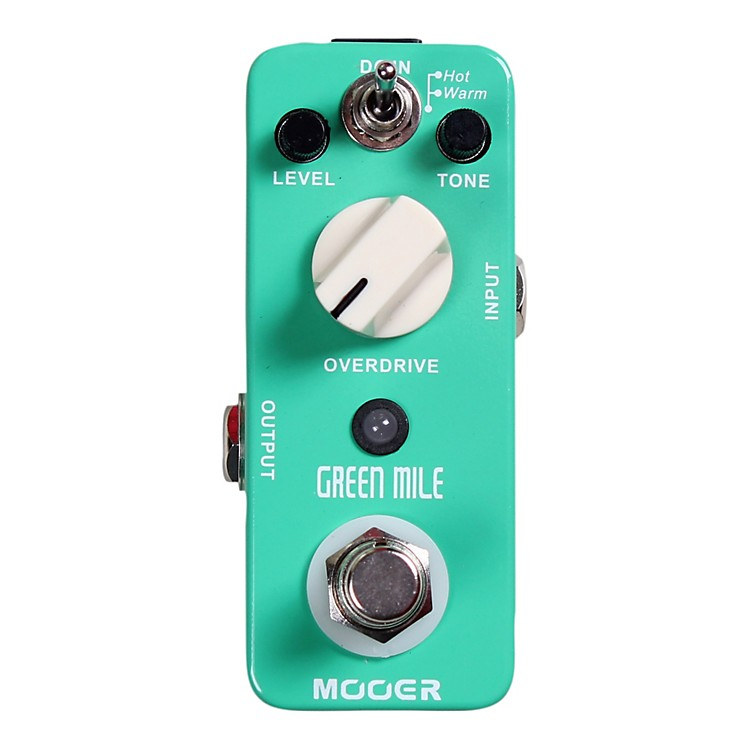 MooerGreen Mile Overdrive Guitar Effects Pedal