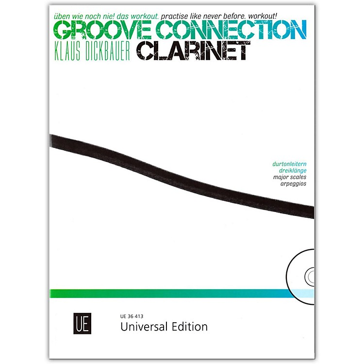 Carl Fischer Groove Connection Score and CD - Clarinet