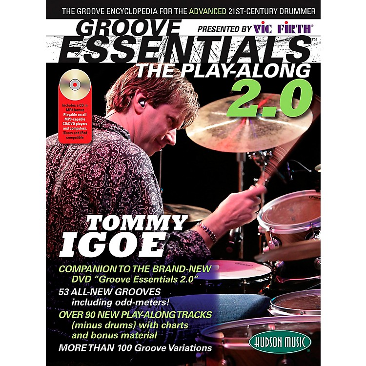 Hudson MusicGroove Essentials 2.0 Tommy Igoe - Over 100 Grooves Book/CD