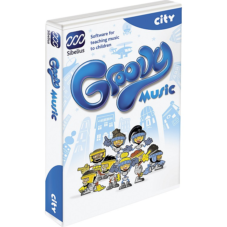 SibeliusGroovy City Music Education Software
