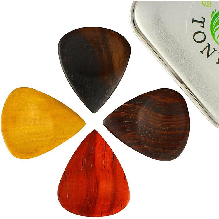 Timber TonesGroovy Tones Mixed Tin of 4 Guitar Picks