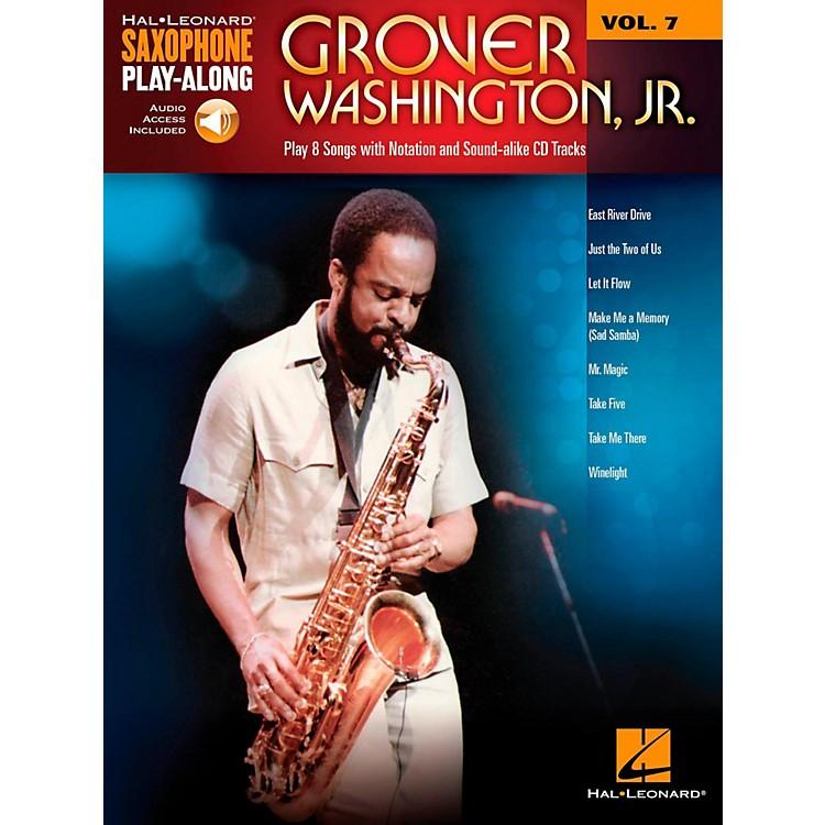 Hal LeonardGrover Washington Jr. - Saxophone Play-Along Vol. 7 (Book/Audio Online)