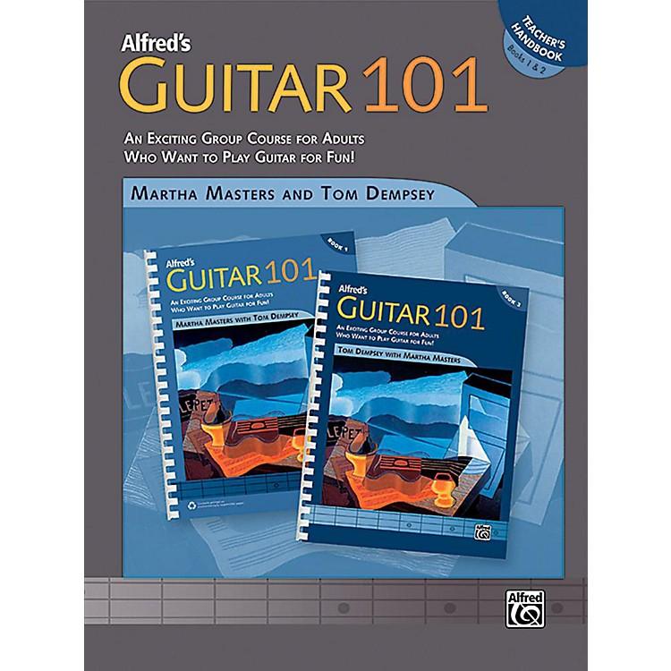 AlfredGuitar 101 Book 1 & 2 Teacher's Handbook