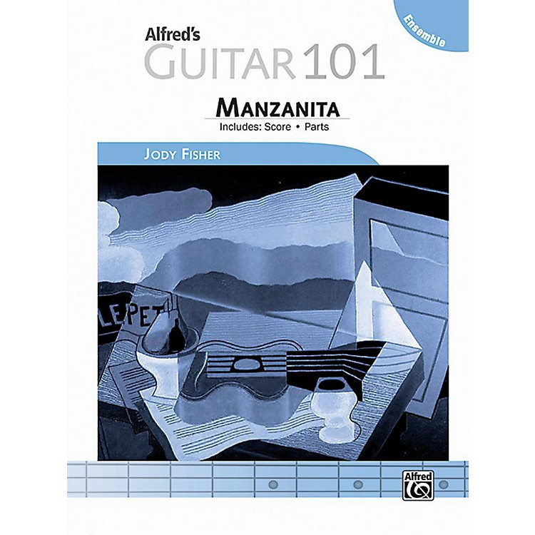 Alfred Guitar 101, Ensemble: Manzanita - Score & Parts