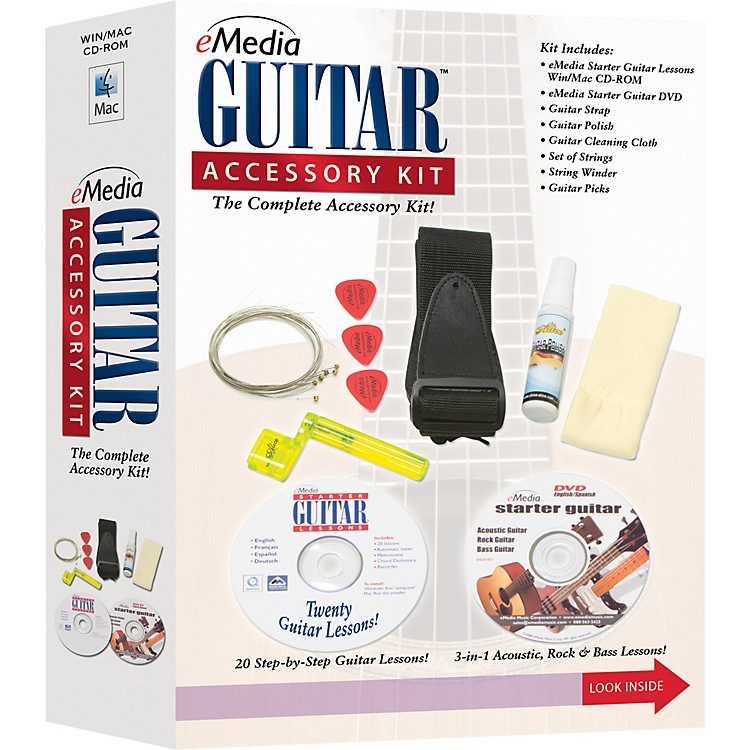 EmediaGuitar Accessory Kit
