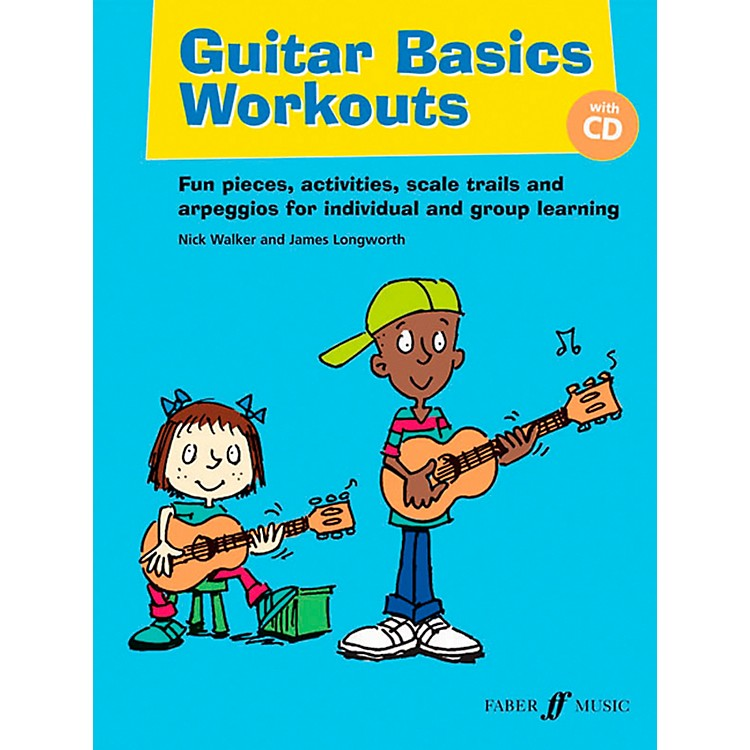 Faber Music Guitar Basics Workouts Book & CD