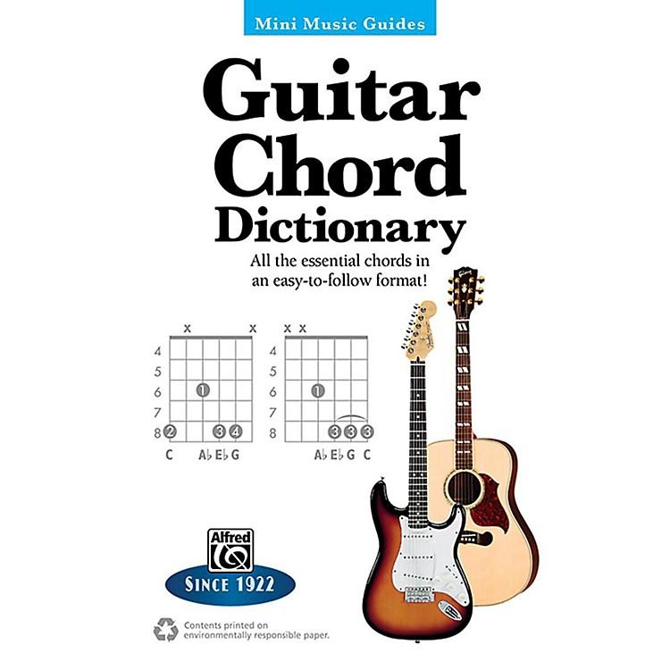 AlfredGuitar Chord Dictionary Mini Music Guides Book