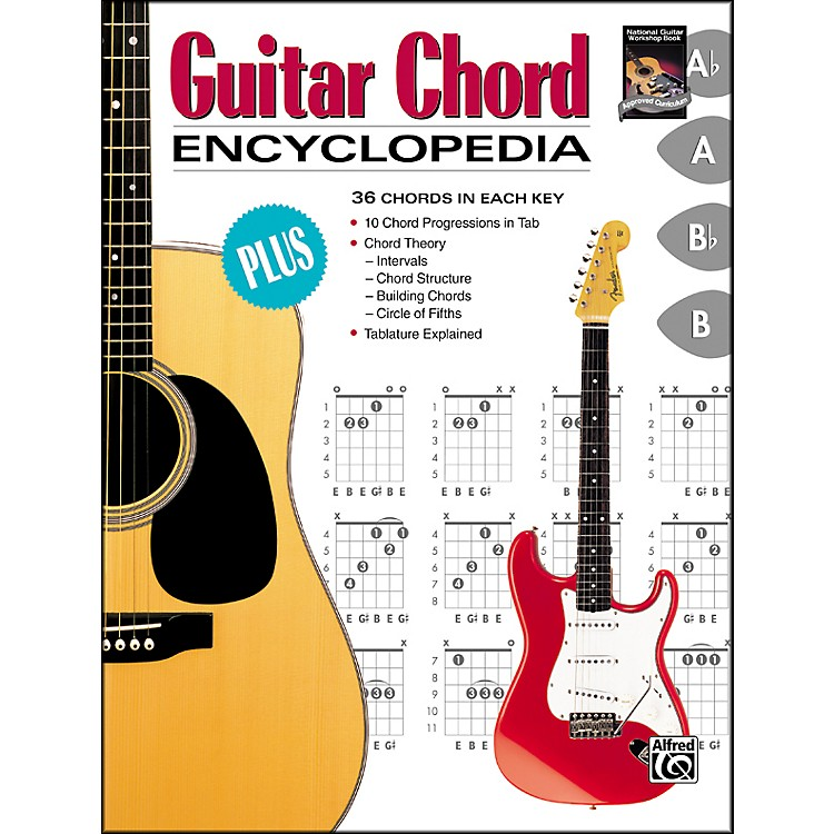 AlfredGuitar Chord Encyclopedia