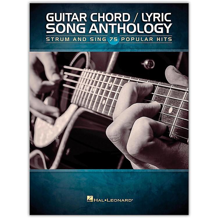Hal LeonardGuitar Chord/Lyric Song Anthology - Strum & Sing 75 Popular Hits