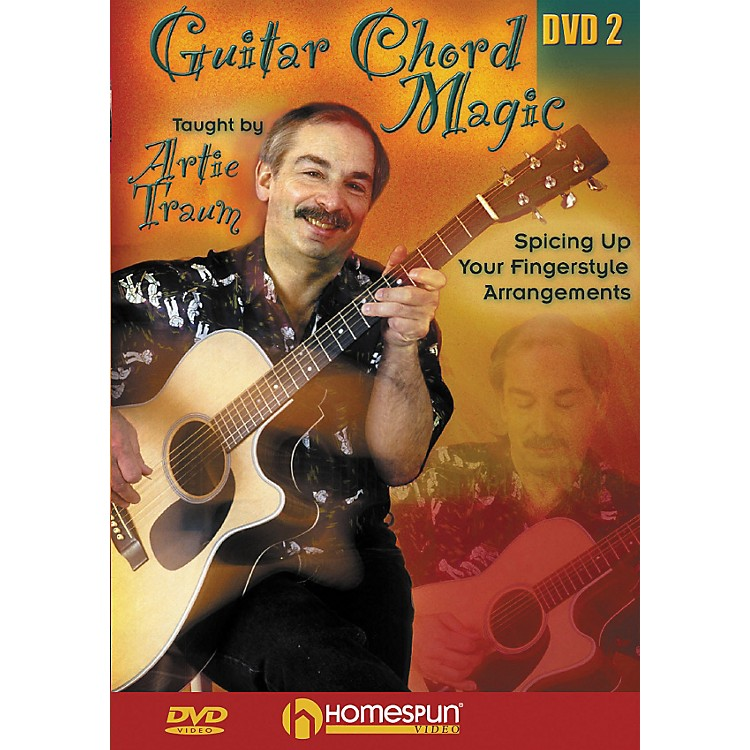 Homespun Guitar Chord Magic: Fingerstyle 2 (DVD)