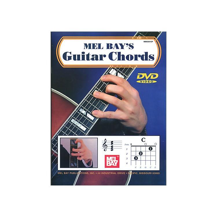 Mel Bay Guitar Chords Book & CD