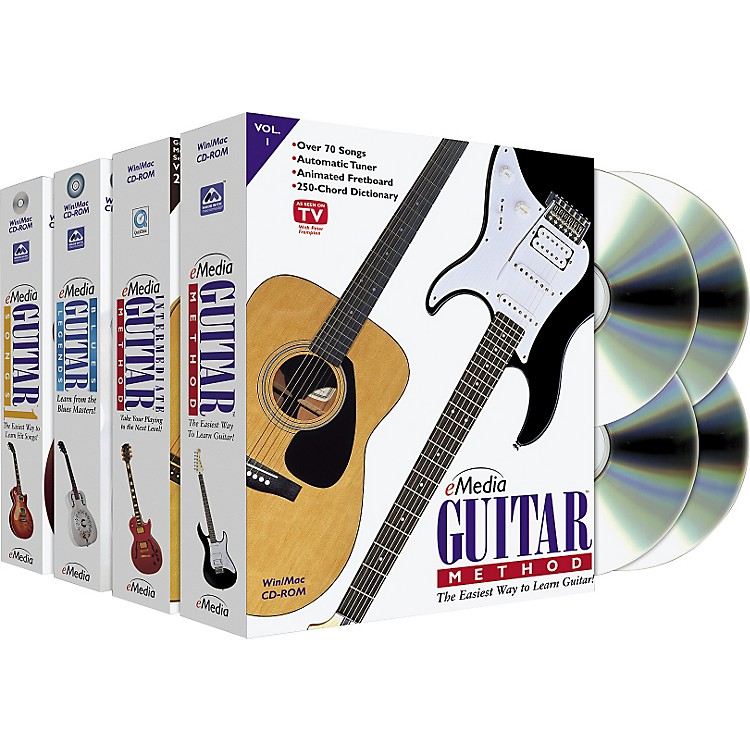 Emedia Guitar Collection 4 CD-ROM Set