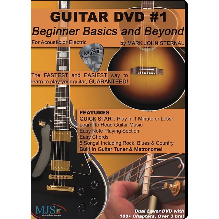 MJS Music PublicationsGuitar DVD #1 Beginner Basics and Beyond
