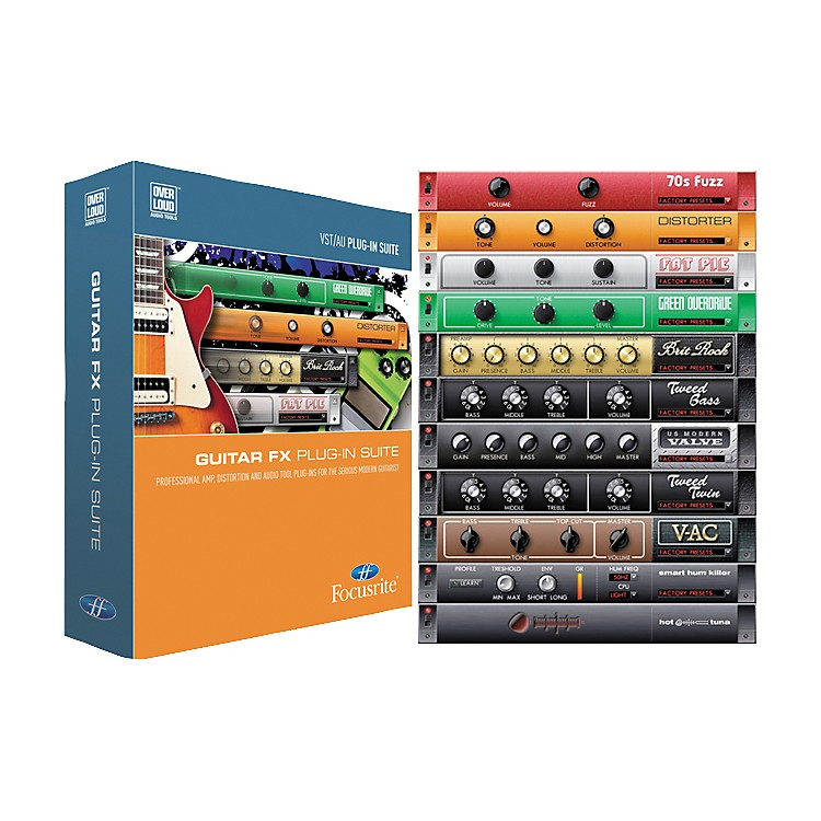 Focusrite Guitar FX Suite Software Plug-Ins