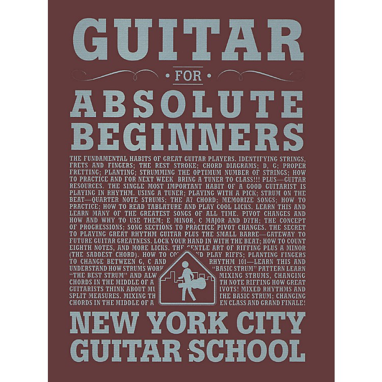 Carl Fischer Guitar For Absolute Beginners (Book)