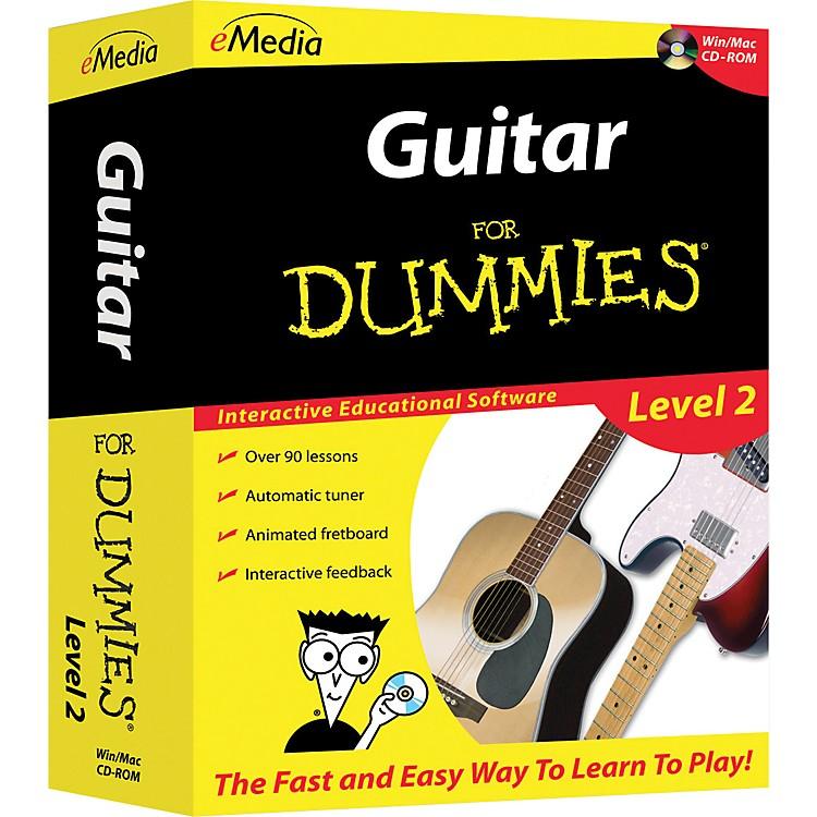 eMediaGuitar For Dummies Level 2 - CD-ROM