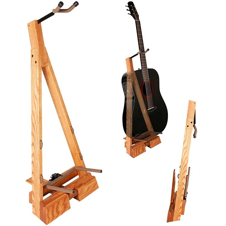 String SwingGuitar Hardwood Floor Stand