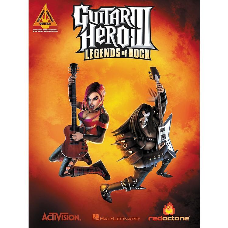 Hal LeonardGuitar Hero 3 Guitar Tab Songbook