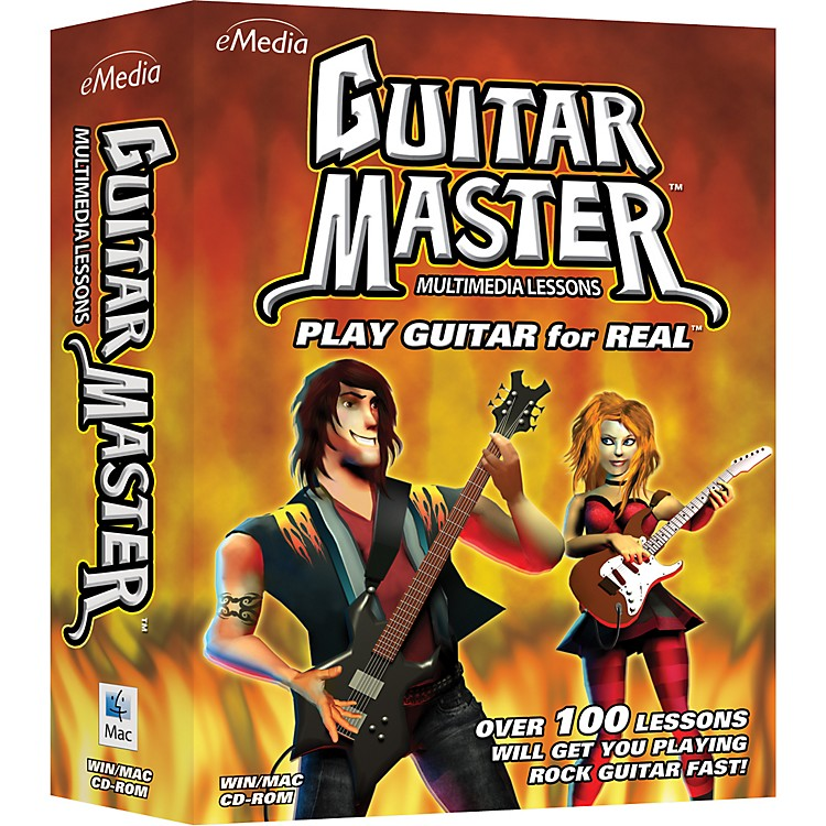 Emedia Guitar Master Instructional CD-Rom
