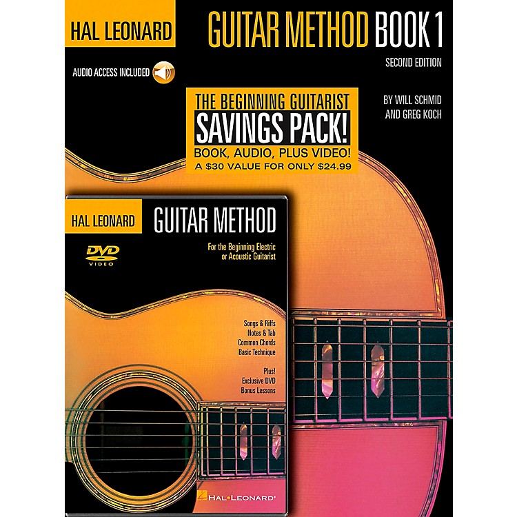 Hal Leonard Guitar Method Book 1 / CD / DVD